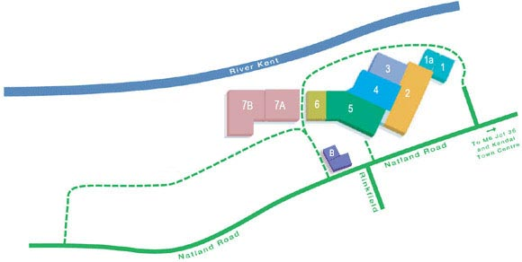 Riverside Site Map